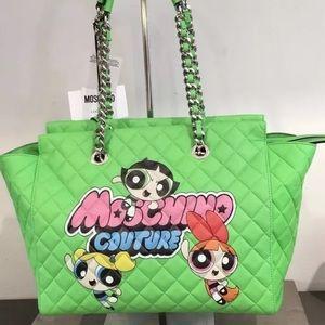 Moschino JEREMY SCOTT POWERPUFF GIRLS Handbag